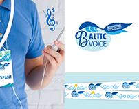 BALTIC VOICE international vocal contest - REBRAND