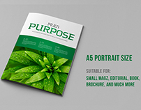 Purpose A5 Portrait Template (V.02)