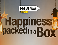 Happiness packed in a Box! - Broadway Pizza