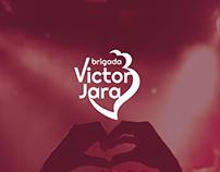 Brigada Victor Jara - Band Logo Concept