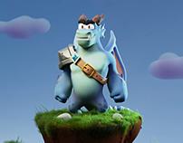 Dragon short animation