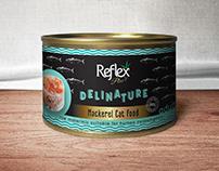 Package Design for Reflex Plus, Delinature Cat Foods