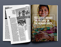 "Johns Hopkins Bloomberg SPH ""Feel Good"" Campaign"