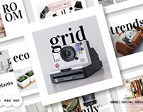 Grid Pack Social Media #84067