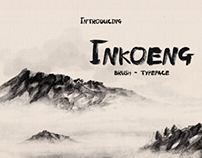 Inkoeng - Brush Typeface