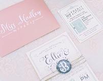 Wedding Stationery: Invitation & Program