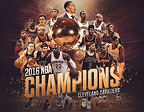 2016 NBA Champions - Cleveland Cavaliers