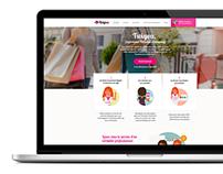 Twigoa redesign - personal eShopping