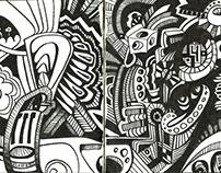 Recent Body of Sketchbook Work