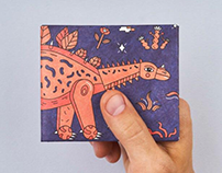 NewWallet with dinosaur