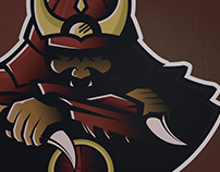 Samurai Mascot Logo #Karambit