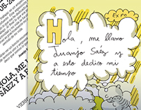 Flyer para Pepita Lumier expo