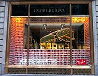 Henri Bendel Rayband sunglasses 2012