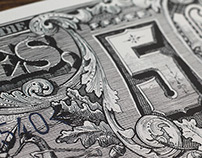 Hand Inked Currency