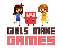 Girls Make Games Graphics