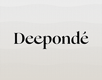 Deepondé New Brand Identity & Product Design