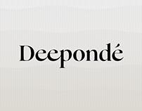 Deepondé New Brand Identity & Product Design