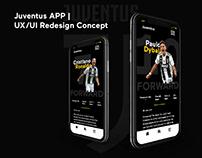 Juventus APP | UX/UI Redesign Concept