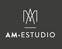 AM Estudio branding