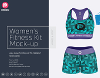 Women's Fitness Kit Mock-Up v1