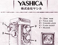 PROJET SCOLAIRE: Affiche Yashica