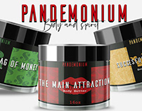 Pandemonium Product Labels