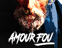 """French Movie Poster """"Amour Fou"""""""