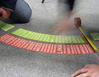 Metro do Porto | typography installation