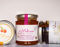 Melino product labels