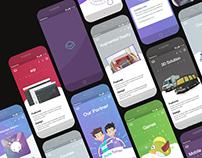 PentaValue website design UX/UI