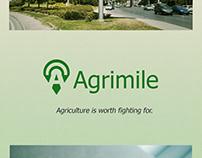Agrimile App Logo Design