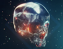 iron skull (wallpaper)