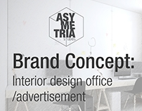Brand Concept/interior design/advertisement