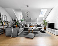 Apartment in Stockholm by VRÅ Homestyling