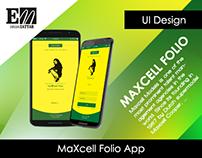 MaXcell Folio (Model Agency App)