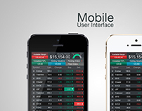 Mobile App - Financial