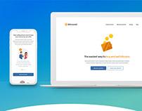 UI / UX - BitmoreX Website Design