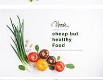 V Foods Web UI UX