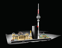 LEGO Architecture Berlin skyline 21027