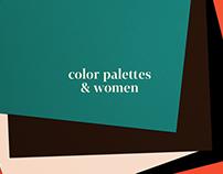color palettes & women