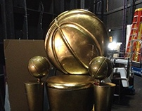 Prop Construction-Basketball Throne for ESPN