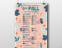 MAC Fall Calendar 2018