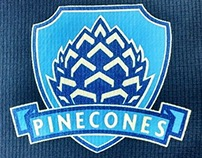Pinecones Rugby Logo