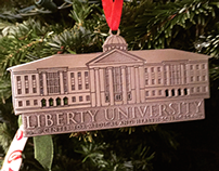 Liberty University 2014 Christmas Ornament