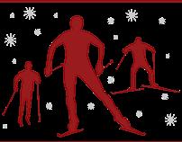 XC Ski Team Poster