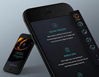 Social Marketing Website Design for Occupi Digital