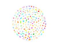 Colorful Confetti Diamonds