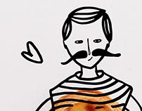 Comidinhas Ilustradas - AMO-TE LISBOA