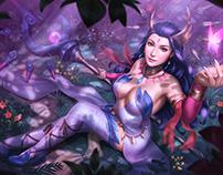 Lana Solaris - Splash Illustration