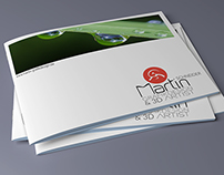 My latest work for my business. A brochure for customer